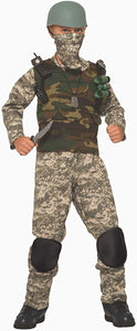Combat Trooper Child Costume, Small