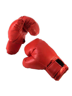 Red Boxing Gloves Adult Costume Accessory