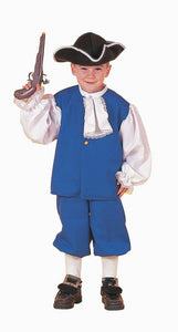 Colonial Boy Costume Child Large