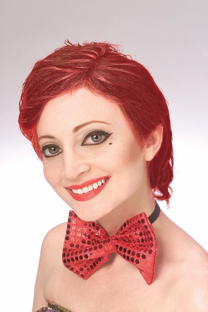Rocky Horror Columbia Red Adult Costume Wig
