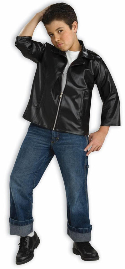Fonzie Grease Biker Jacket Costume Child  sc 1 st  Toynk Toys & Fonzie Grease Biker Jacket Costume Child - Toynk Toys