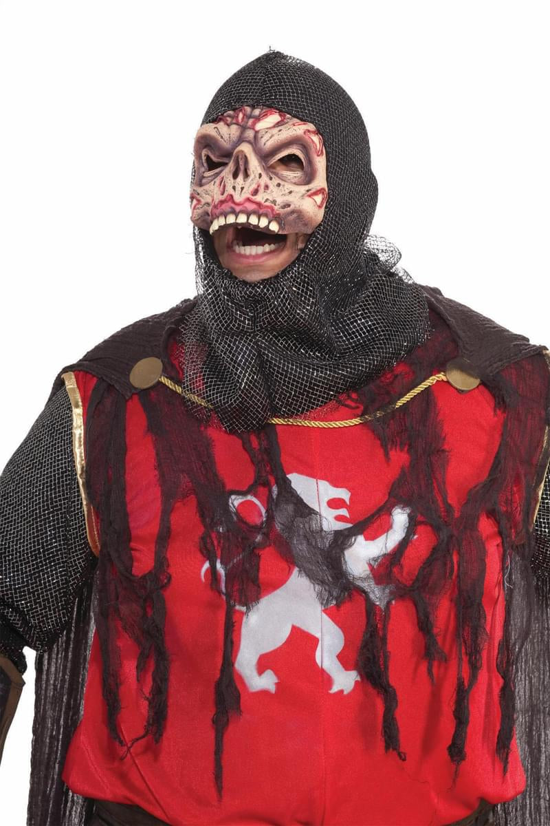 Scary Zombie Knight Crusader Costume Adult