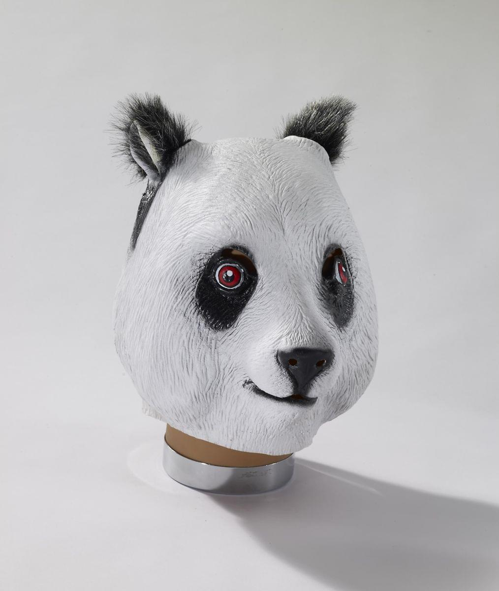 Deluxe Latex Animal Mask Adult: Panda One Size