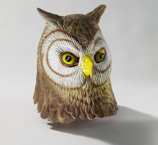 Deluxe Latex Animal Mask Adult: Owl