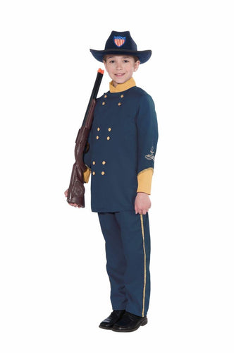 Union Officer Uniform Costume Child