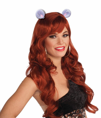 Animal Ears Costume Hair Clips: Mouse