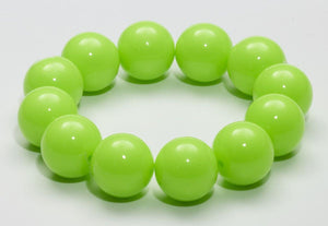 Club Candy Gumball Costume Bracelet: Green