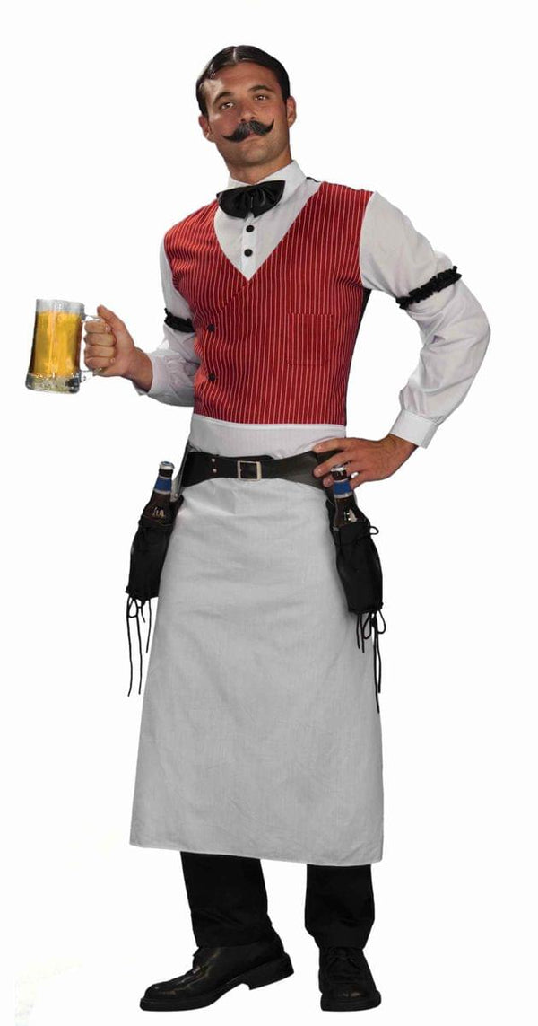 Old Fashioned Bartender Costume Adult Plus