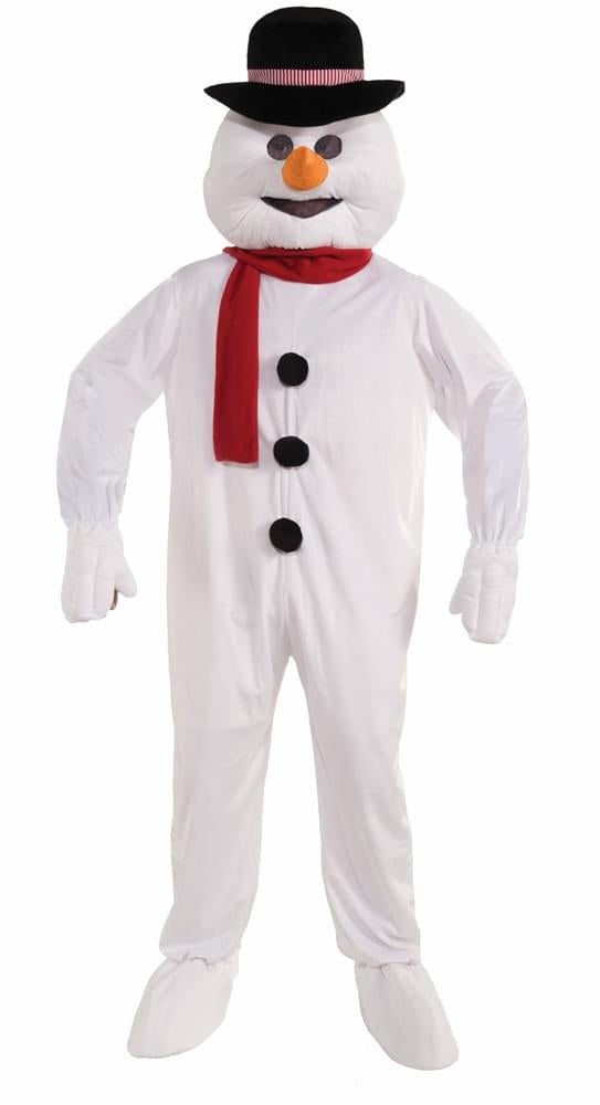 Christmas Snowman Mascot Costume Adult