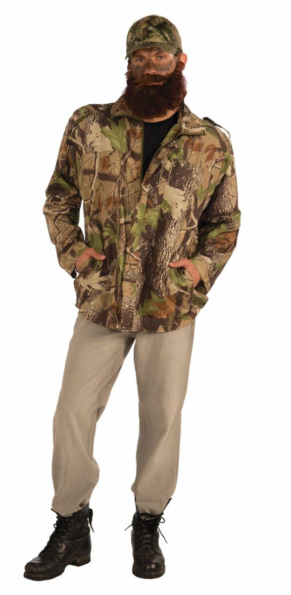 Duck Hunter Costume Camouflage Jacket Adult