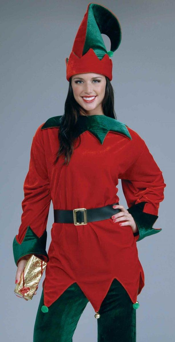Santa's Helper Christmas Elf Costume Adult