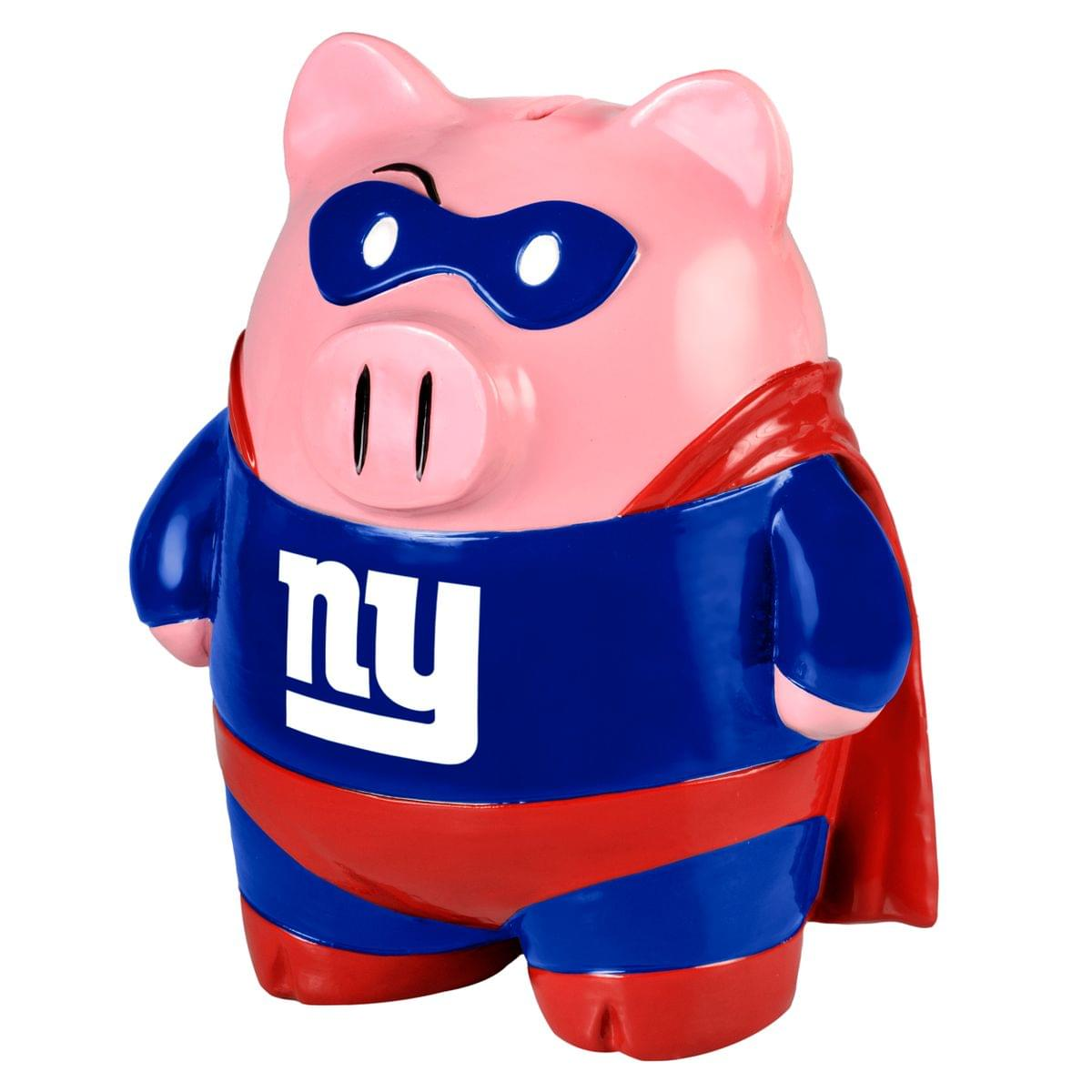 "NFL 8"" Team Superhero Piggy Bank: New York Giants"