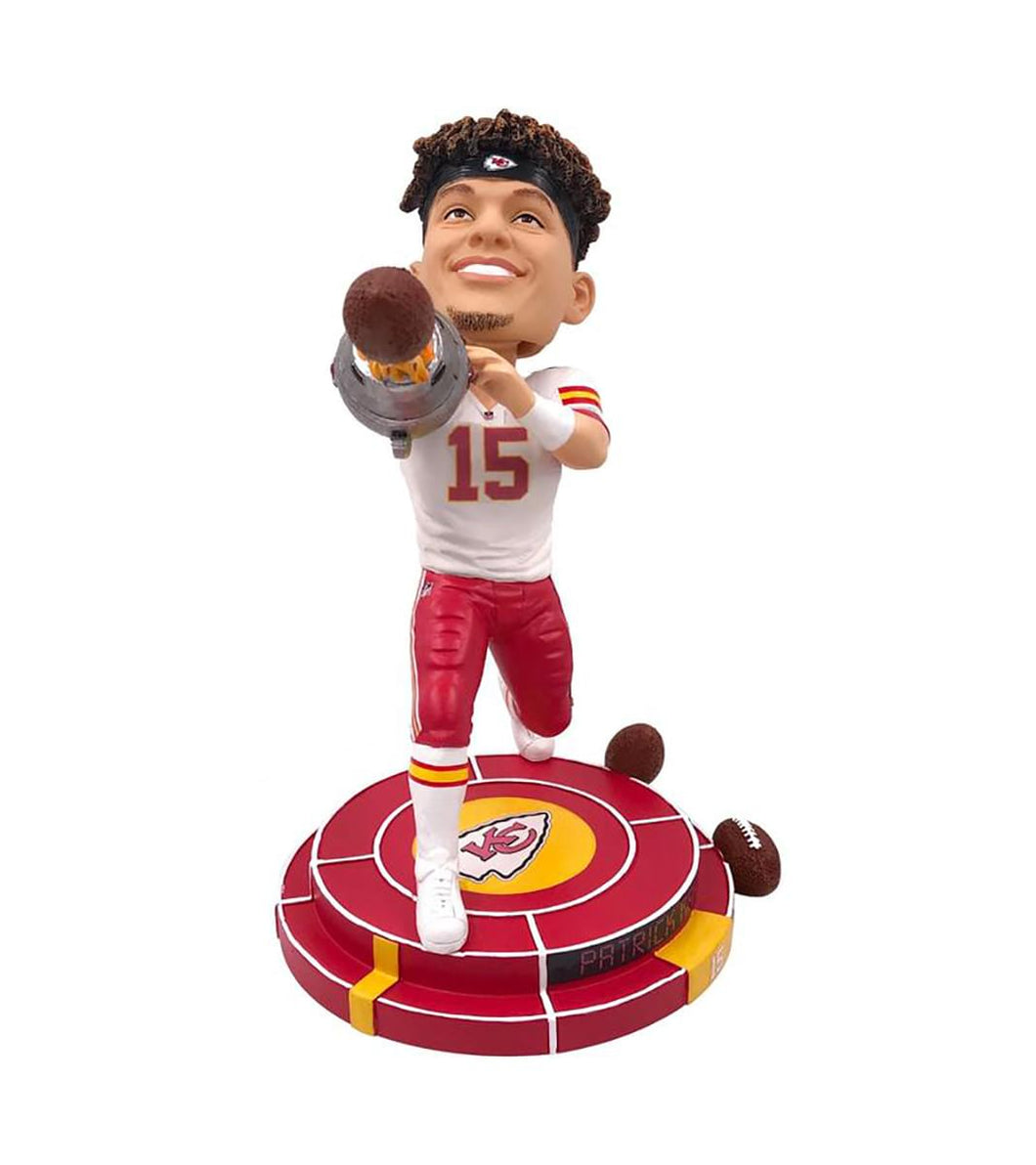 Kansas City Chiefs NFL 8 Inch Resin Bobblehead - Cannon Arm Patrick Mahomes