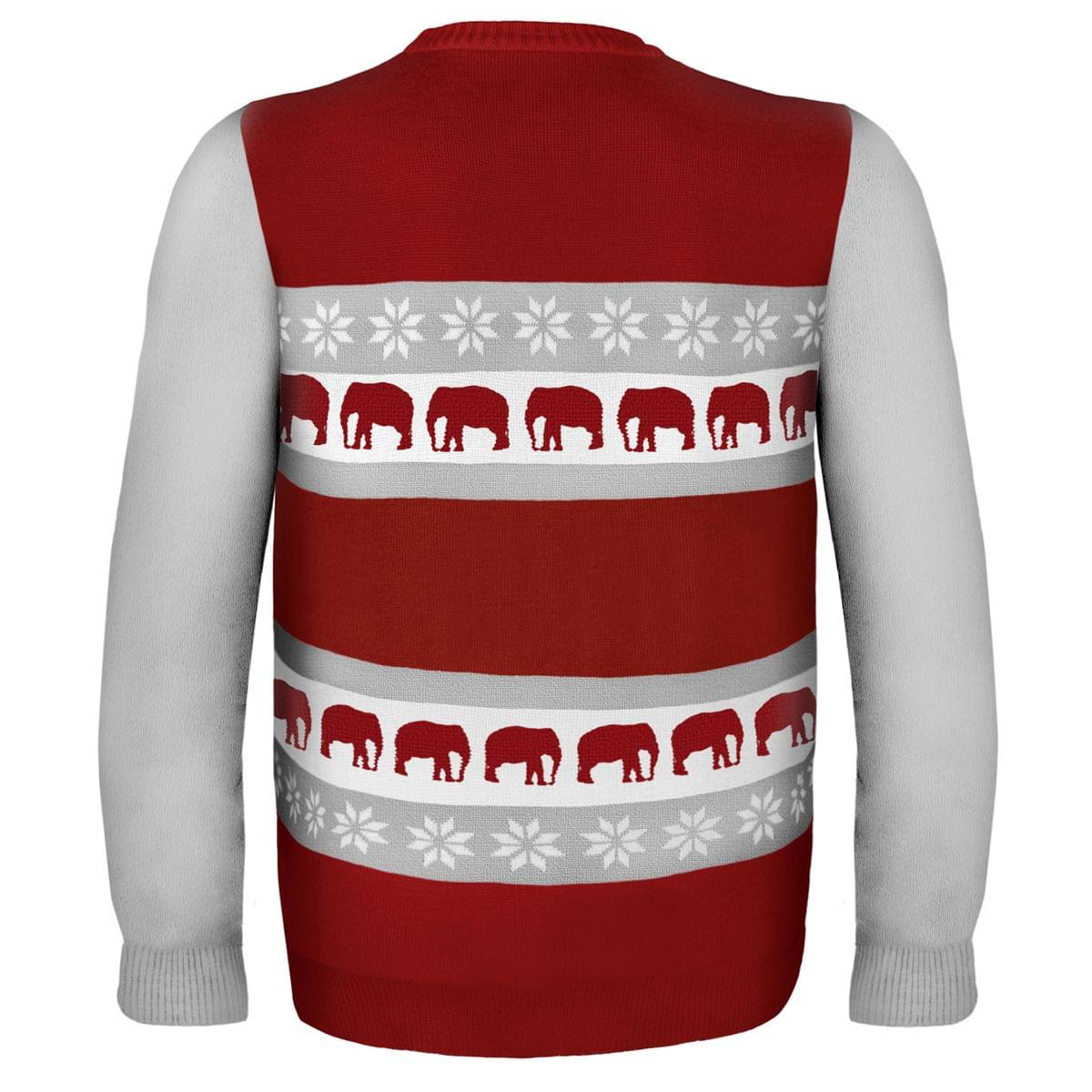 Alabama Wordmark NCAA Ugly Sweater