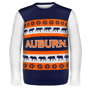 Auburn Wordmark NCAA Ugly Sweater
