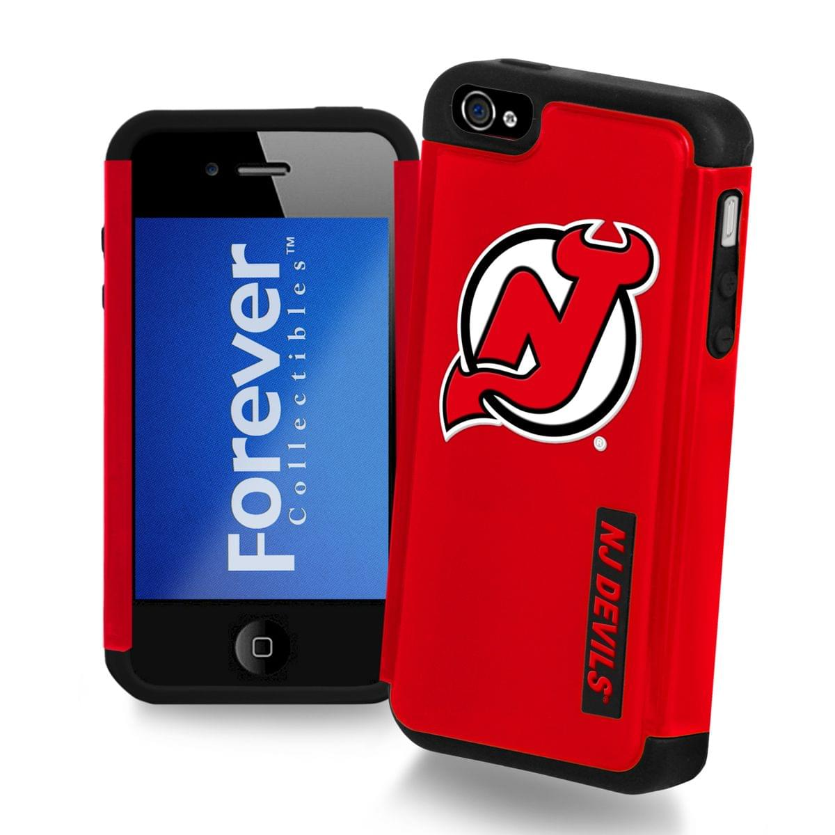 NHL New Jersey Devils Apple iPhone 4 Dual Hybrid Case