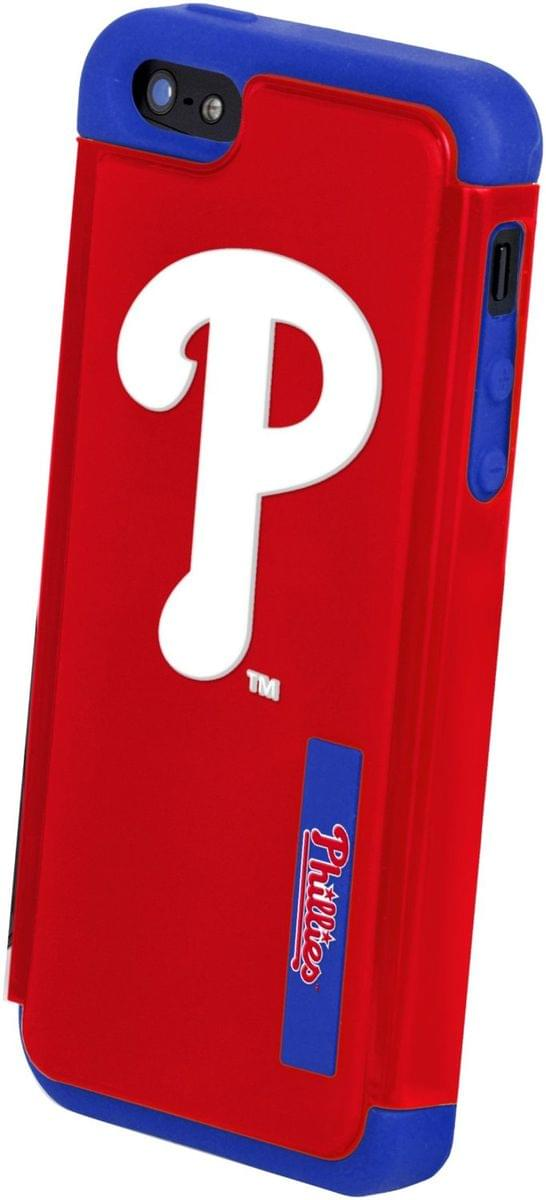 MLB Philadelphia Phillies Apple iPhone 5 Dual Hybrid 2-Piece Cover