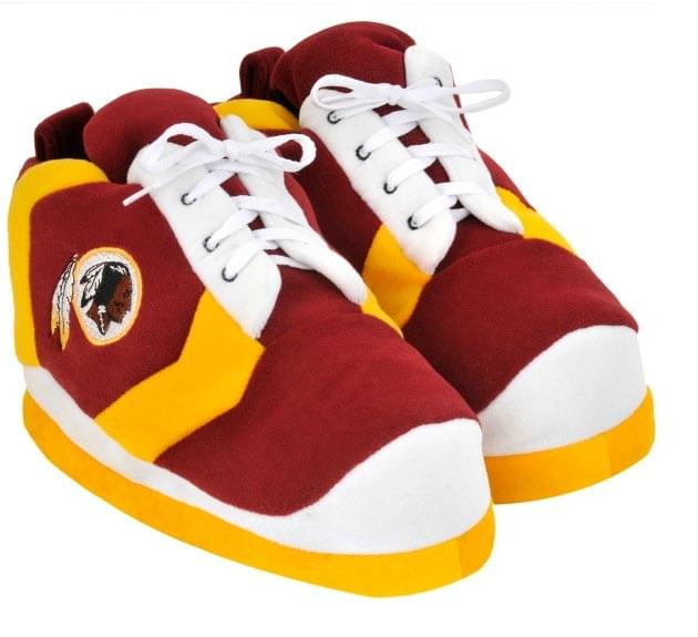 Washington Redskins 2012 Colorblock Mens Sneaker Slippers Small