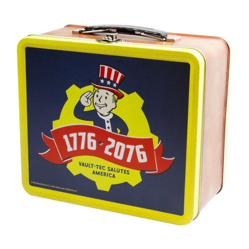 Fallout Collectibles | Fallout 76 Tricentennial Tin Tote Replica
