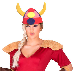 Horned Viking Helmet Adult Foam Costume Hat - One Size