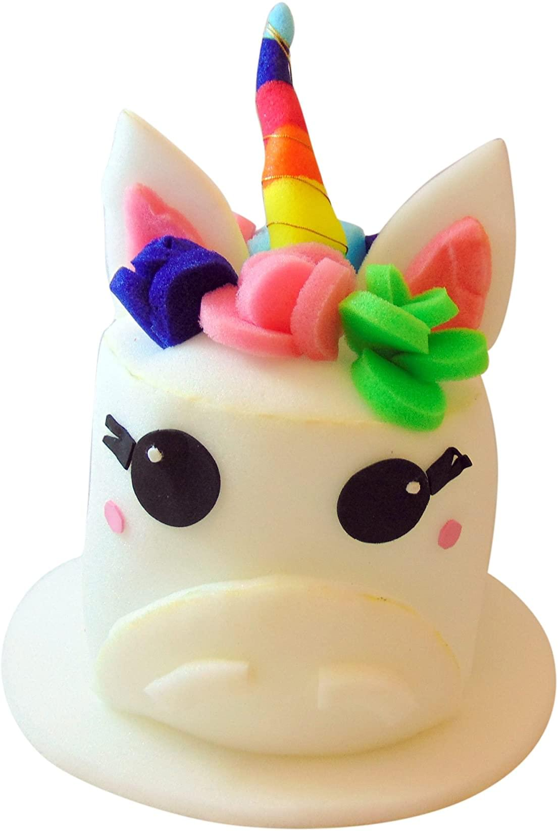 Funky Fresh Unicorn Adult Foam Costume Hat