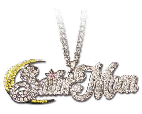 Sailor Moon Studded Logo Costume Jewelry Necklace