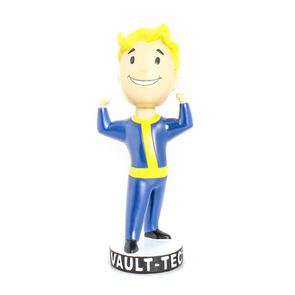 Gaming Heads Fallout 4 Vault Boy 111 Series 1 Strength Bobble Head