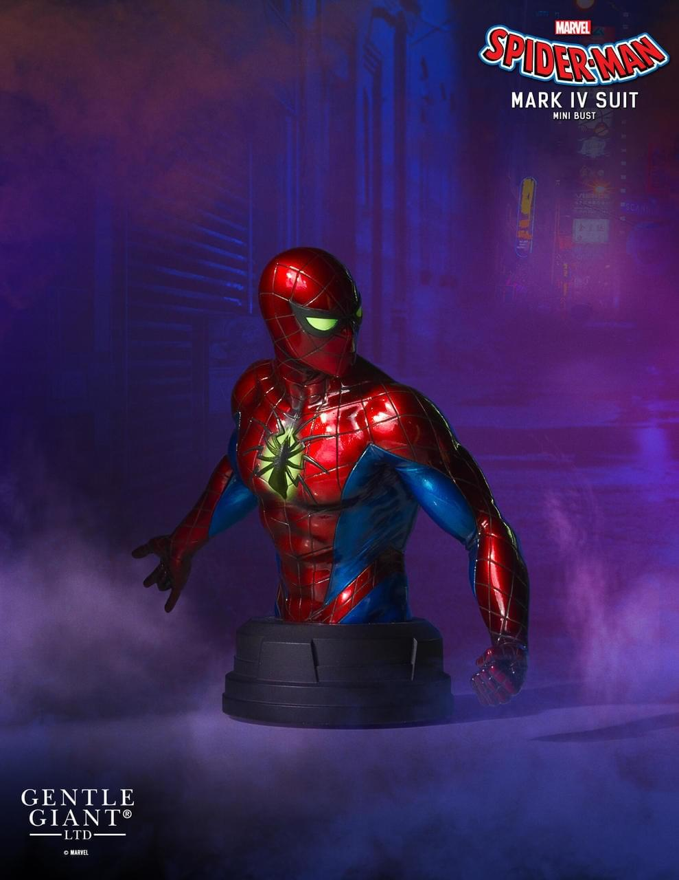 Marvel Spider-Man Collector Statue | Spider-Man Mark IV Suit | 6-Inch Height