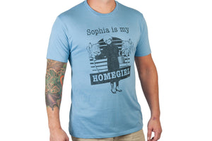 The Golden Girls 'Sophia Is My Homegirl' Men's T-Shirt Light Blue | Comfort Fit
