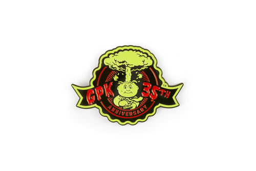 Garbage Pail Kids Adam Bomb 35th Anniversary Enamel 1.75 Inch Pin Toynk Exclusive