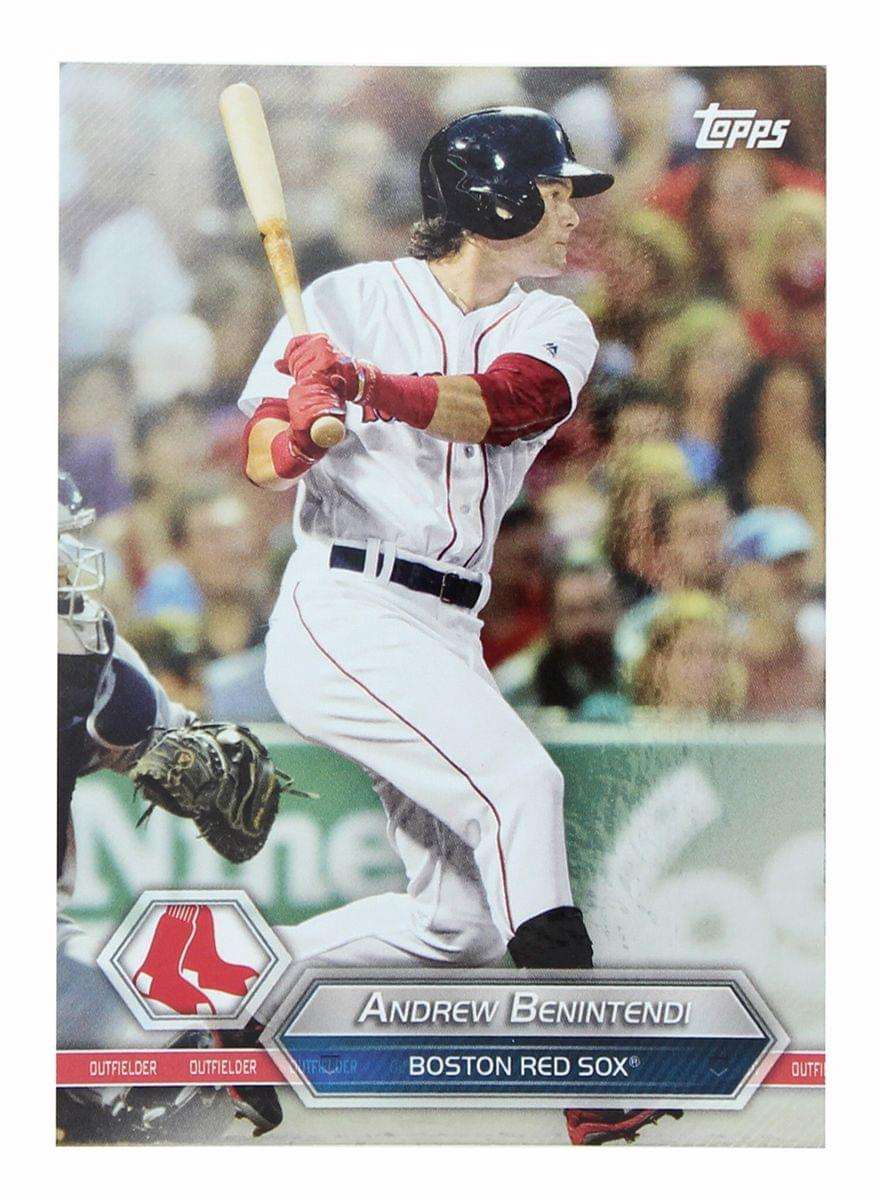 Boston Red Sox MLB Crate Exclusive Topps Card #50 - Andrew Benintendi