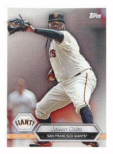San Francisco Giants MLB Crate Exclusive Topps Card #45 - Johnny Cueto