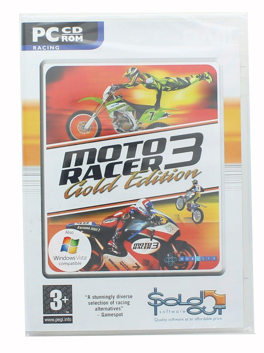 Moto Racer 3 Gold Edition Video Game - PC