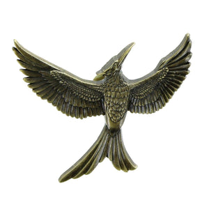 The Hunger Games Part 2 Gold Mockingjay Pin