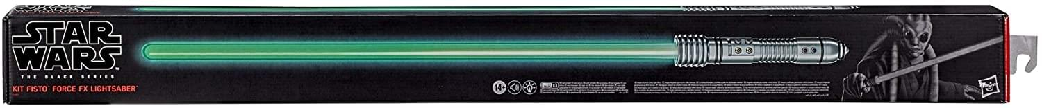 Star Wars The Black Series Kit Fisto Force FX Lightsaber