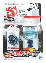 Load image into Gallery viewer, Beyblade Metal Fury Battle Top w/ Launcher - Blitz Striker