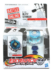 Beyblade Metal Fury Battle Top w/ Launcher - Blitz Striker