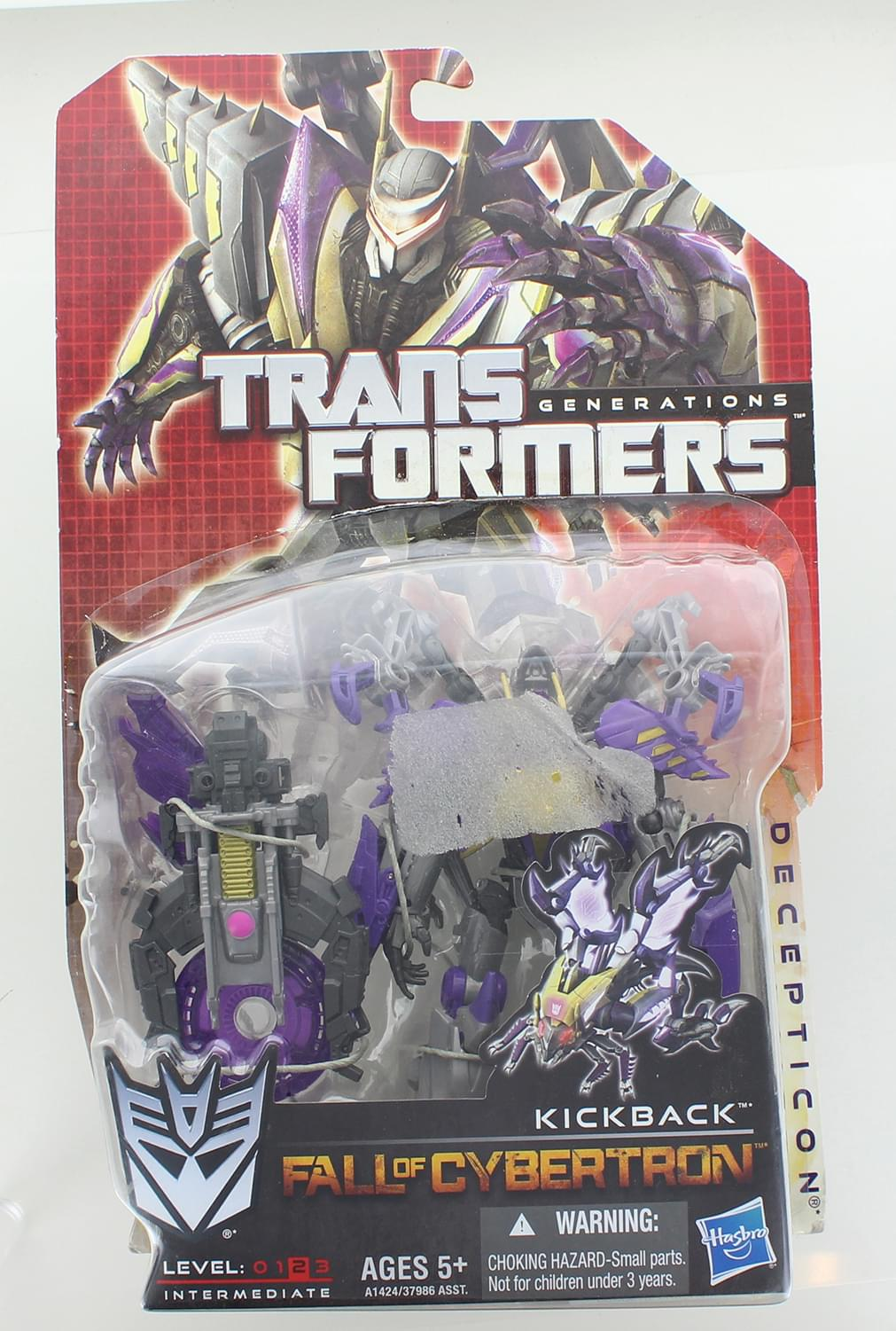 Transfomers Generations Fall of Cybertron | Kickback | Damaged Package