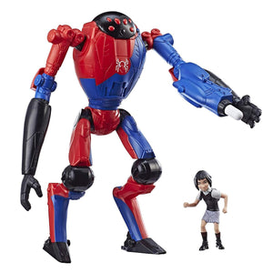 Spider-Man Into the Spider-Verse SP//DR & Peni Parker 6 Inch Figures