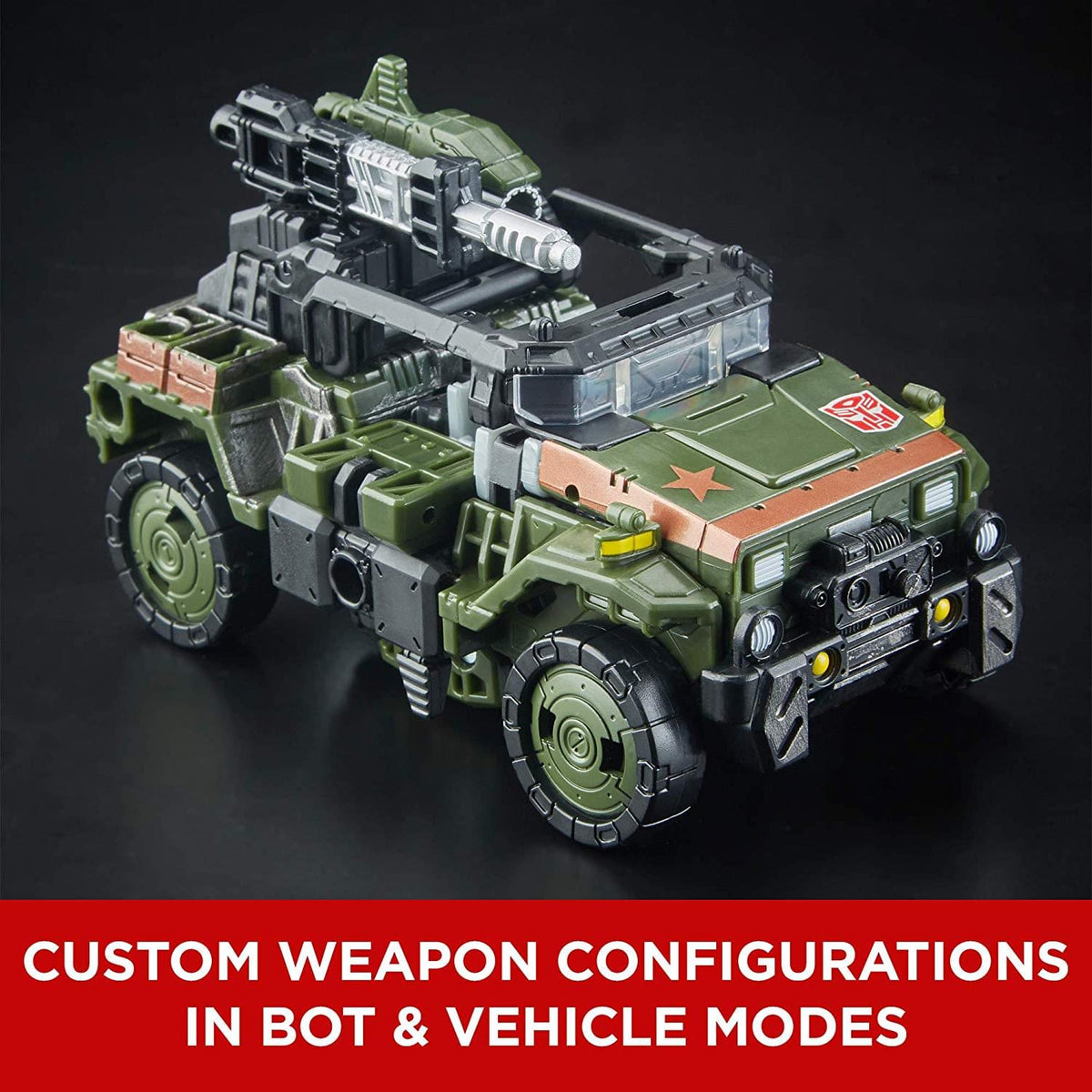 Transformers Generations Siege Deluxe Action Figure | Hound