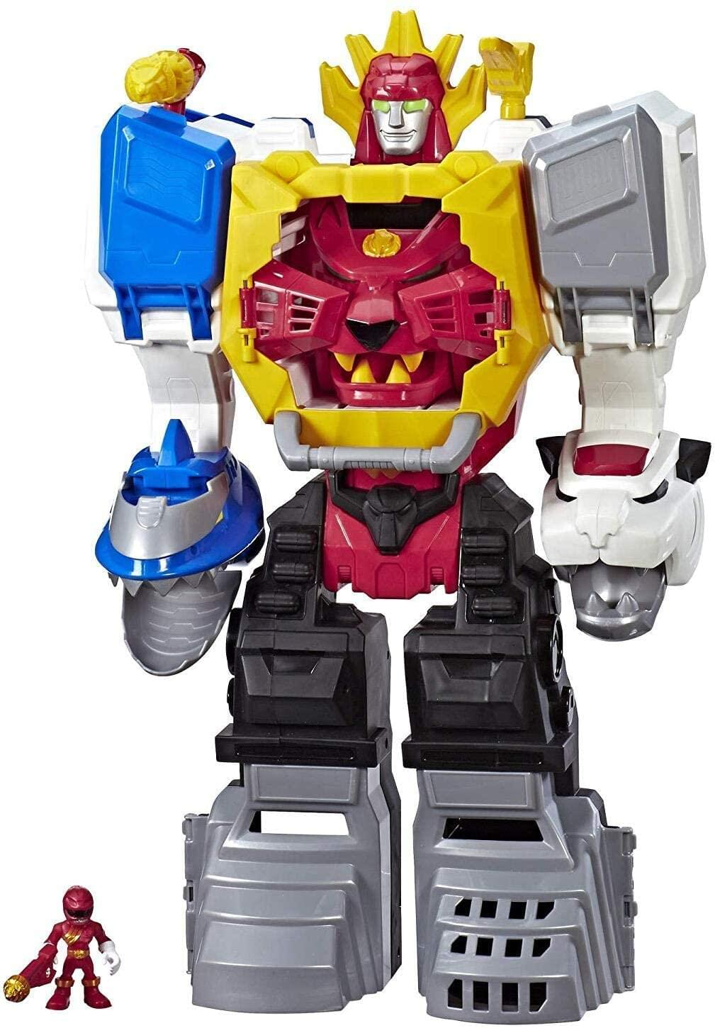 Power Rangers Electronic Power Morphin Megazord | 2-in-1 Converting Playset