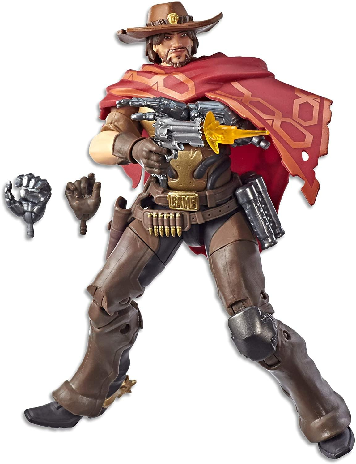 Overwatch Ultimates Series 6 Inch Action Figure | McCree
