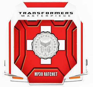 Transformers Masterpiece MP30 Ratchet Collector's Coin