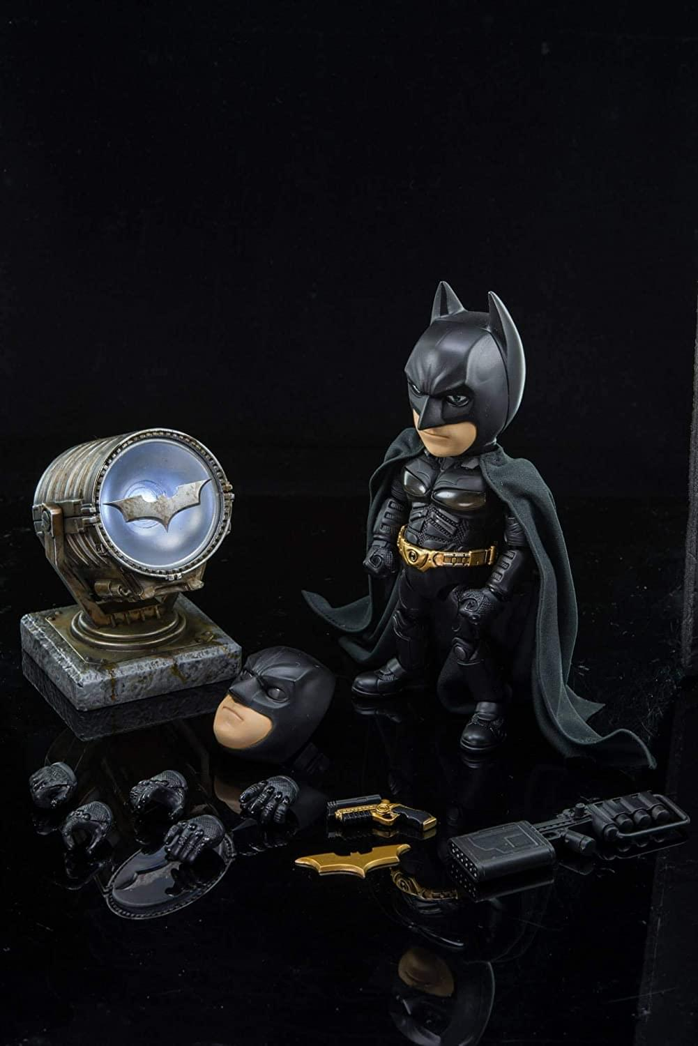 DC Comics Hybrid Metal Figuration Action Figure | Dark Knight Rises Batman