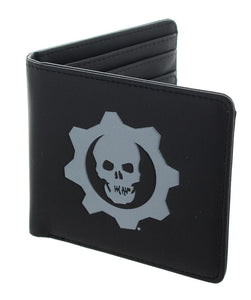 Gears of War 4 Embossed Crimson Omen Logo Bi-Fold Wallet