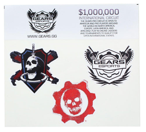 Gears of War 4 Vinyl Stickers
