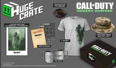Call of Duty: Modern Warfare Exclusive Merchandise Pack w/ Shirt (Large)