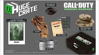 Call of Duty: Modern Warfare Exclusive Merchandise Pack w/ Shirt