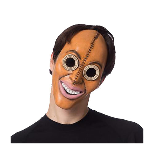 Eradicate Adult Costume Mask, Leather Look