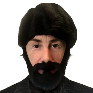 Sniper Adult Costume Beard & Wig Set
